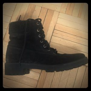 Zara lined boots for winter